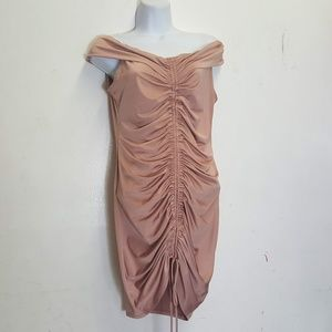 FASHION NOVA RUCHED DRESS XL
